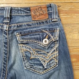 Big Star Casey K Low Rise Bootcut Jeans